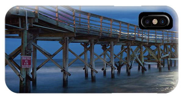 Evening Pier IPhone Case