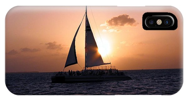 Evening Sail IPhone Case