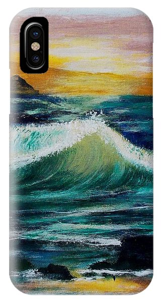Evening Seascape 1 IPhone Case