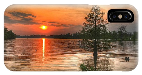 Evening Serenity  IPhone Case