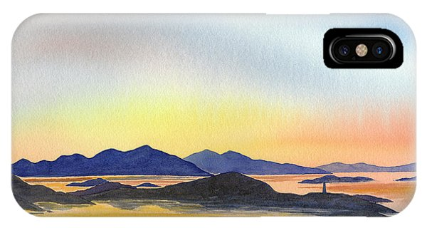 Northern Scotland iPhone Case - Evening Tide by Sharon Freeman
