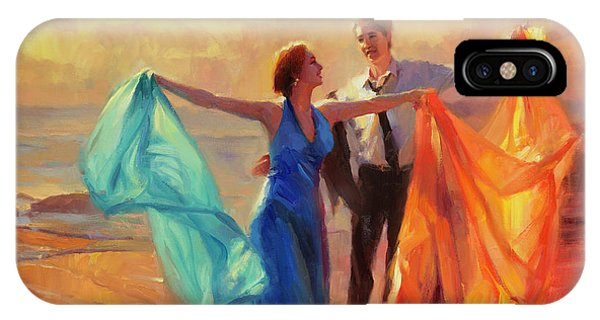 Spin iPhone Case - Evening Waltz by Steve Henderson