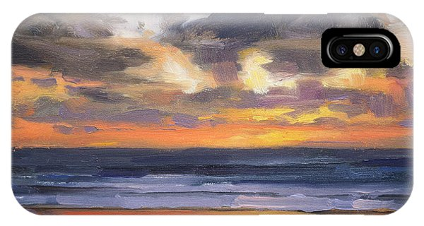 Pacific Ocean iPhone Case - Eventide by Steve Henderson