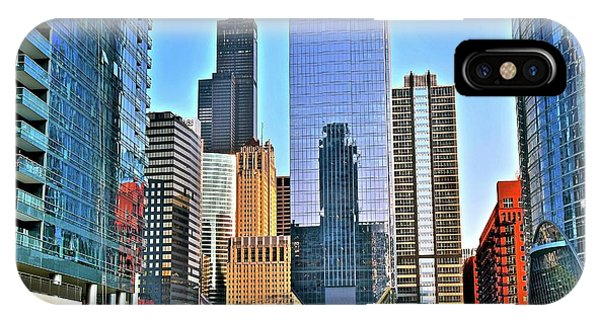 Bean Town iPhone Case - Ever Growing Chicago by Frozen in Time Fine Art Photography