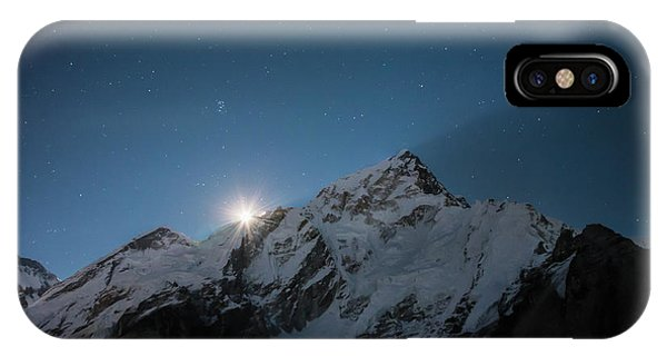 IPhone Case featuring the photograph Everest Supermoon by Owen Weber