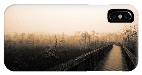 Everglades Boardwalk IPhone Case