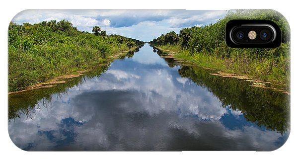Everglades Canal IPhone Case