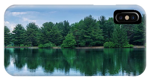 Evergreen Lake Reflections IPhone Case