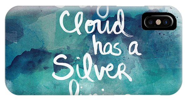 Cloud iPhone Case - Every Cloud by Linda Woods