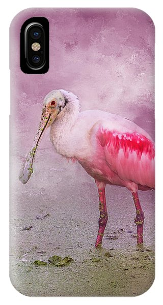 Spoonbill iPhone Case - Everything Is Rosie by Marvin Spates