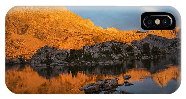 Evolution Basin Sunset IPhone Case