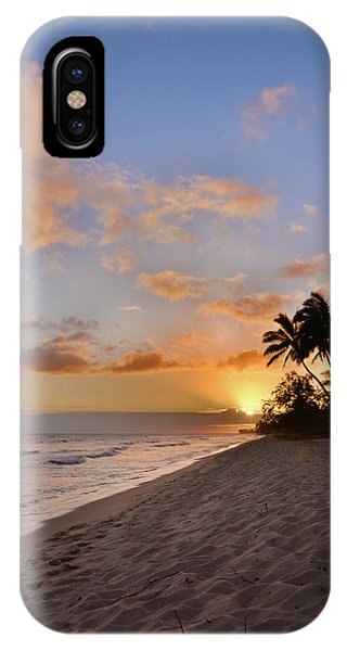 Sun Set iPhone Case - Ewa Beach Sunset 2 - Oahu Hawaii by Brian Harig