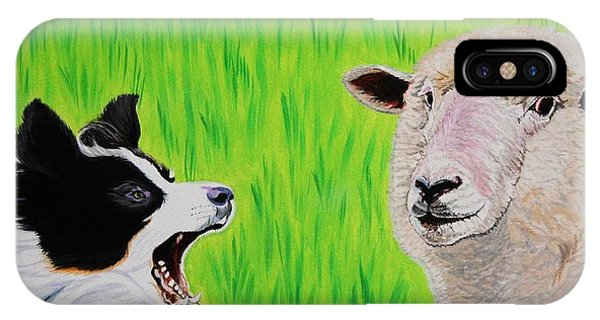 Ewe Talk'in To Me? IPhone Case