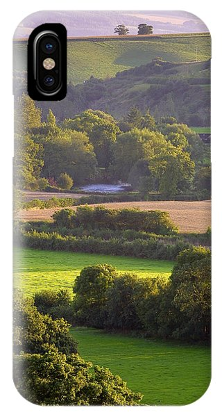 Exe Valley Evening Phone Case by Neil Buchan-Grant