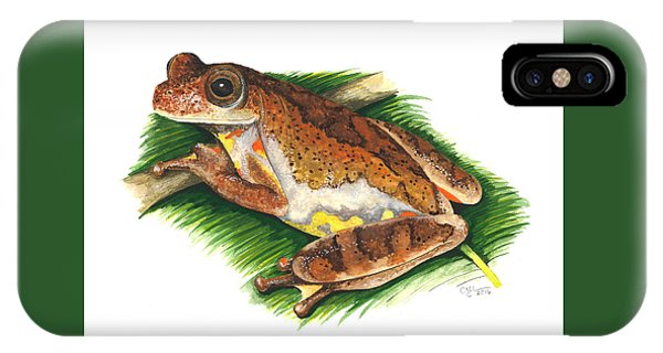 Executioner Treefrog IPhone Case