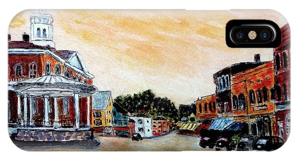 Exeter Nh Circa 1920 IPhone Case