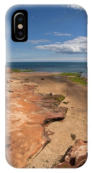 Exmouth Near Orcombe Point IPhone Case