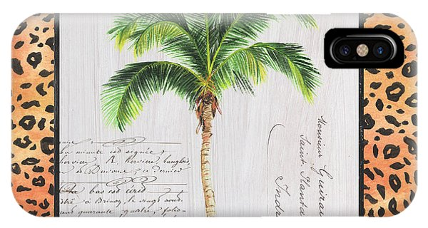 Palm Trees iPhone Case - Exotic Palms 1 by Debbie DeWitt