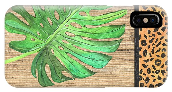 Peru iPhone Case - Exotic Palms 3 by Debbie DeWitt