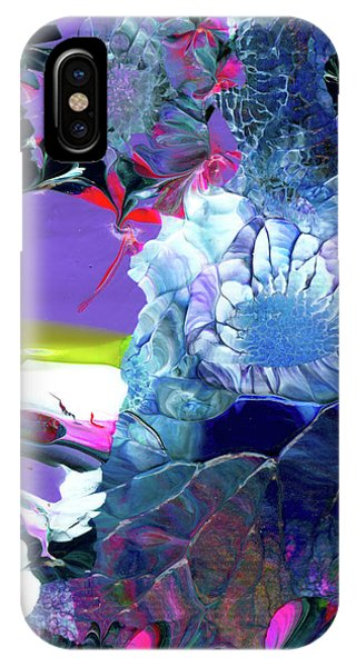 Exotic White Rose Island IPhone Case