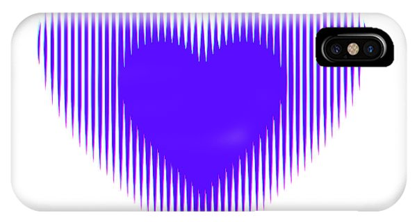 Expanding - Shrinking Heart IPhone Case