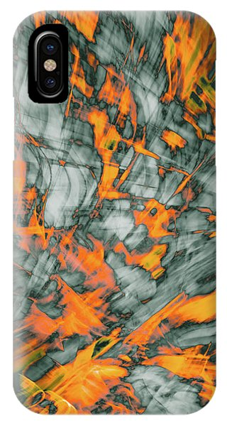 Exploded Fall Leaf Abstract IPhone Case
