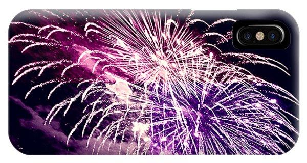 Exploding Stars IPhone Case