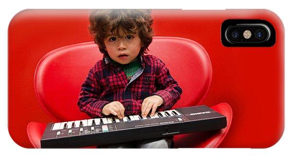 Exploring Piano IPhone Case