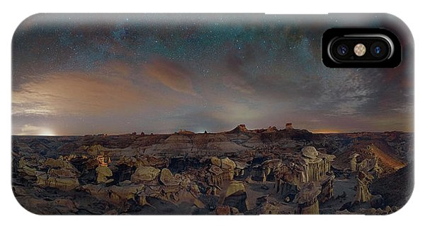 Exploring The Bisti Badlands Of New Mexico IPhone Case