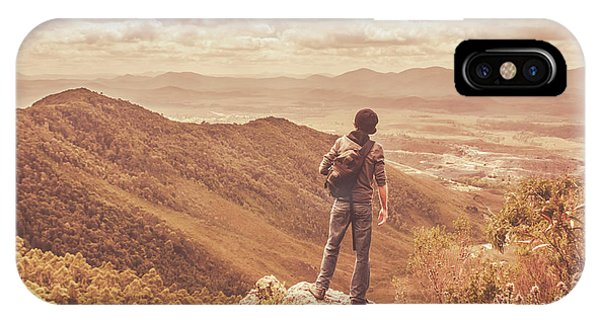 Attraction iPhone Case - Exploring The Rugged West Coast Of Tasmania by Jorgo Photography - Wall Art Gallery