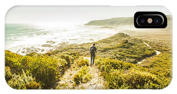 Hiking Path iPhone Case - Exploring The West Coast Of Tasmania by Jorgo Photography - Wall Art Gallery
