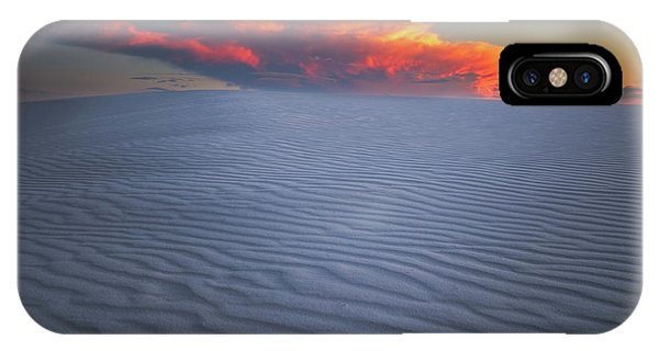 Dunes iPhone Case - Explosion Of Colors by Edgars Erglis