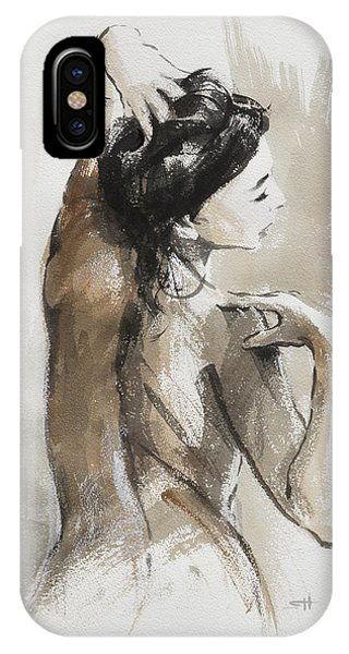 Nudes iPhone X Case - Expression by Steve Henderson
