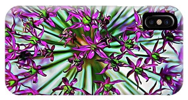 Expressionalism Purple Starlight IPhone Case