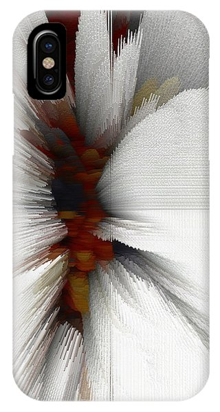 IPhone Case featuring the digital art Sculptural Series Painting 51.072110windblscext1590l10110l by Kris Haas