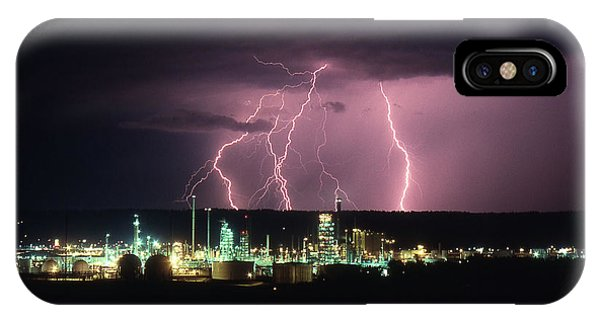 Exxon Lightning IPhone Case