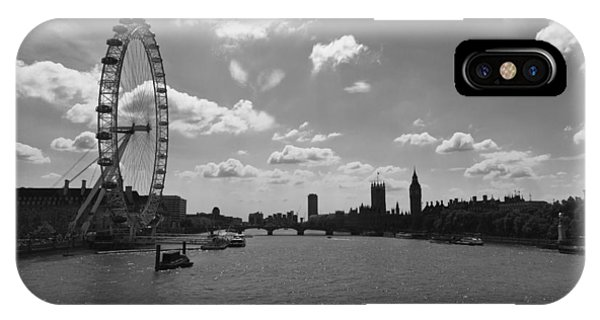 Eye And Parliament IPhone Case