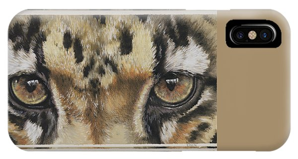 Eye-catching Clouded Leopard IPhone Case