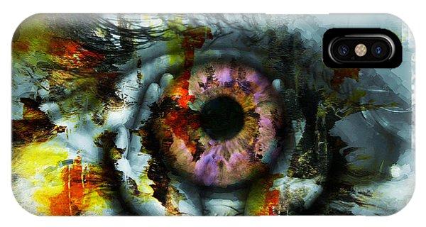 Eye In Hands 001 IPhone Case