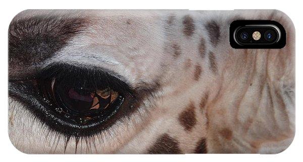 Exploramum iPhone Case - Eye Of A Giraffe by Exploramum Exploramum