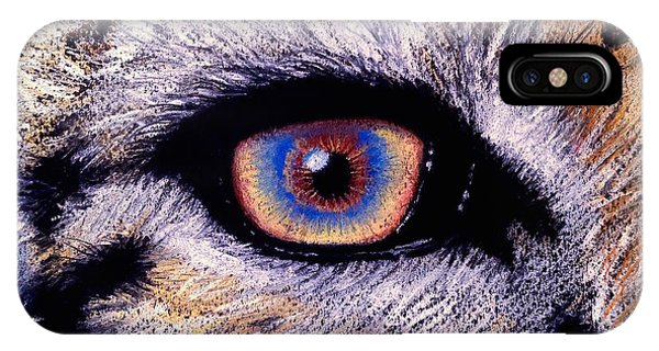 Eye Of A Tiger IPhone Case
