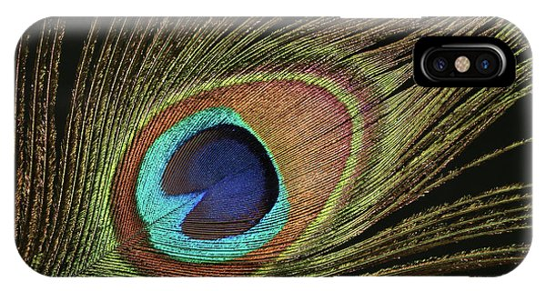 Eye Of The Peacock #11 IPhone Case
