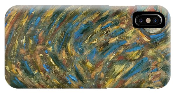 iPhone Case - Eye Of The Storm by Gretchen Dreisbach