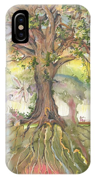 Eye See My Healing Tree IPhone Case