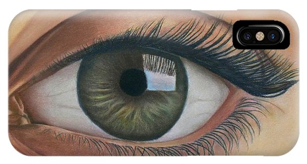 Eye - The Window Of The Soul IPhone Case