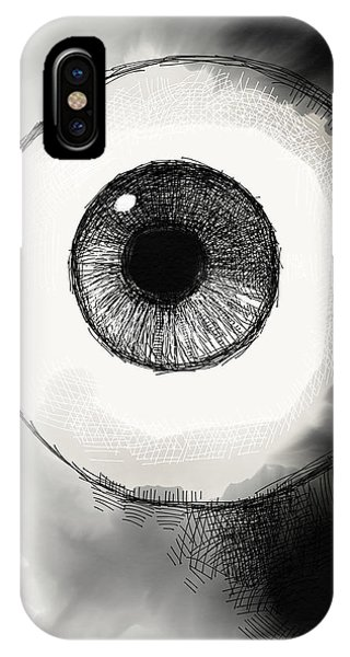 Eyeball IPhone Case