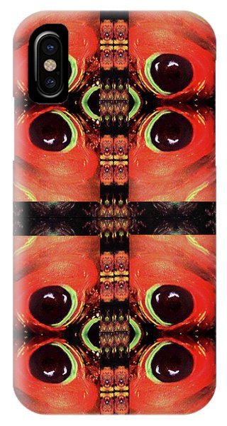 iPhone Case - Eyes 8 Four Square by Michelle Audas