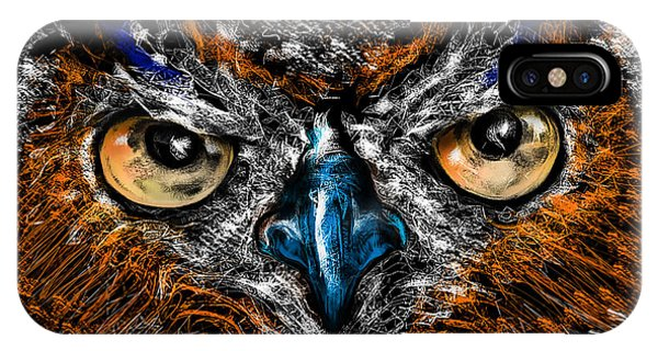 Eyes In The Night... IPhone Case