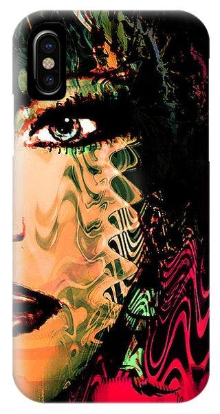 Eyes Of An Artist IPhone Case