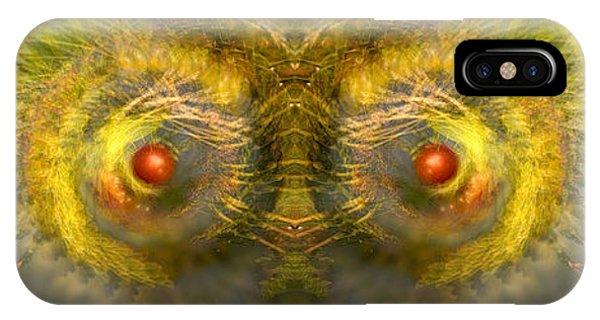 Eyes Of The Garden-1 IPhone Case